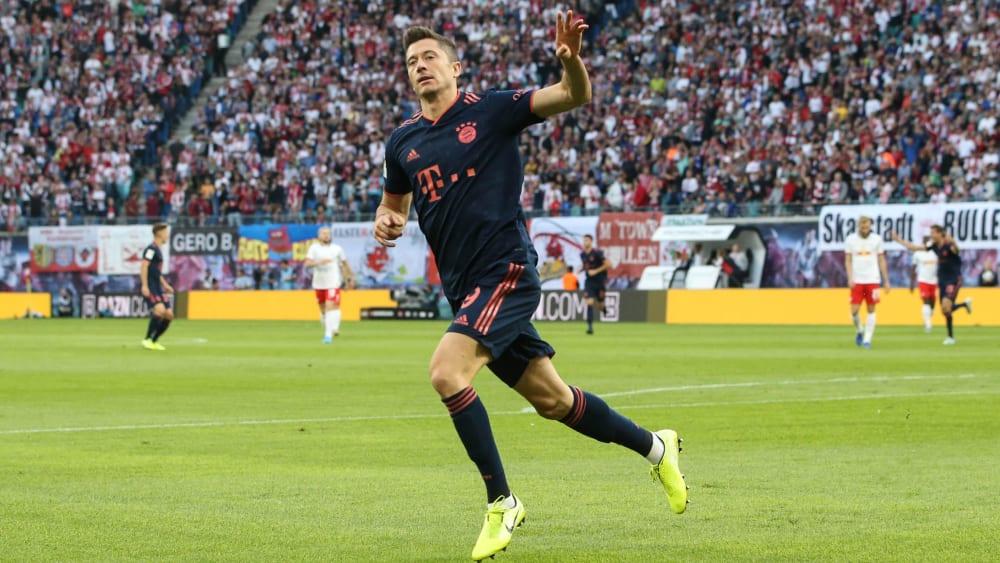 Lewandowski jagt van Nistelrooy - Beim FC Bayern stellt sich die Rotationsfrage