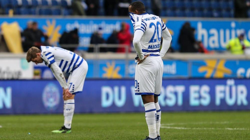 Duisburg steht unter Druck