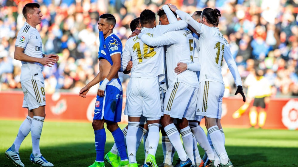 Real Madrid bejubelt das 1:0