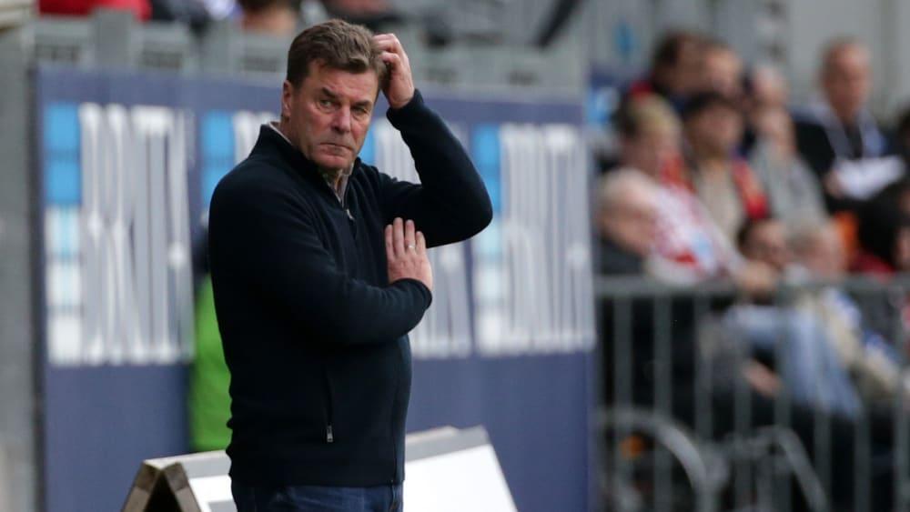 HSV-Trainer Dieter Hecking