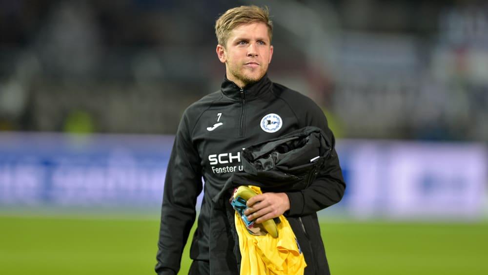 Wieder eine Alternative: Arminias Patrick Weihrauch saß gegen Osnabrück erstmals in der Saison wieder auf der Bank.