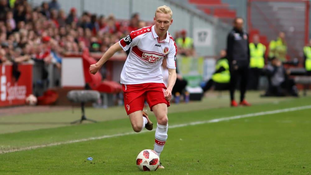 Trägt künftig das Trikot der Würzburger Kickers: Luke Hemmerich.