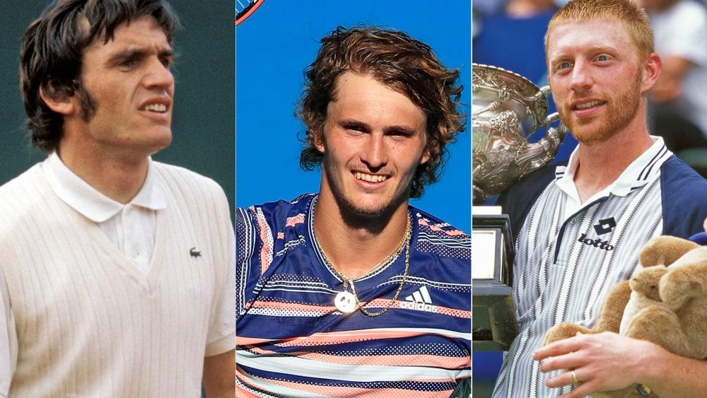 Karl Meiler, Alex Zverev, Boris Becker