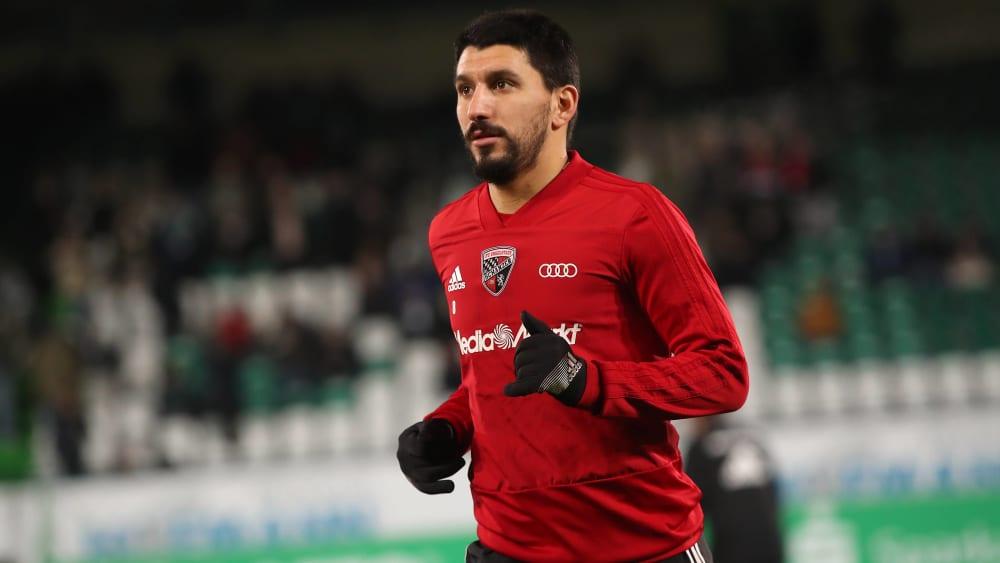 Will nicht mit dem FC Ingolstadt in die 3. Liga: Almog Cohen.