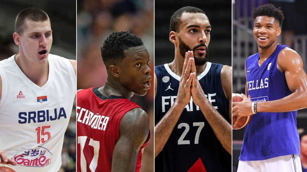 Antetokounmpo, Jokic & Co.: Die Stars der Basketball-WM