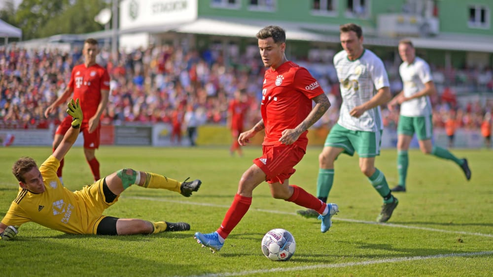Philippe Coutinho in Vilshofen