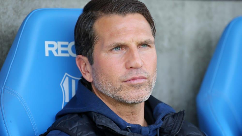 Chemnitz' Coach Patrick Glöckner.