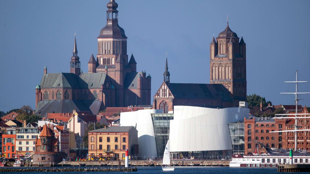 Auftaktort der Deutschland Tour 2020: Stralsund