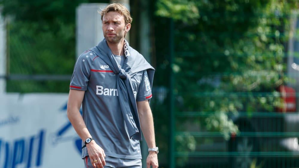 Kennt den Tivoli: Leverkusens Sportdirektor Simon Rolfes.