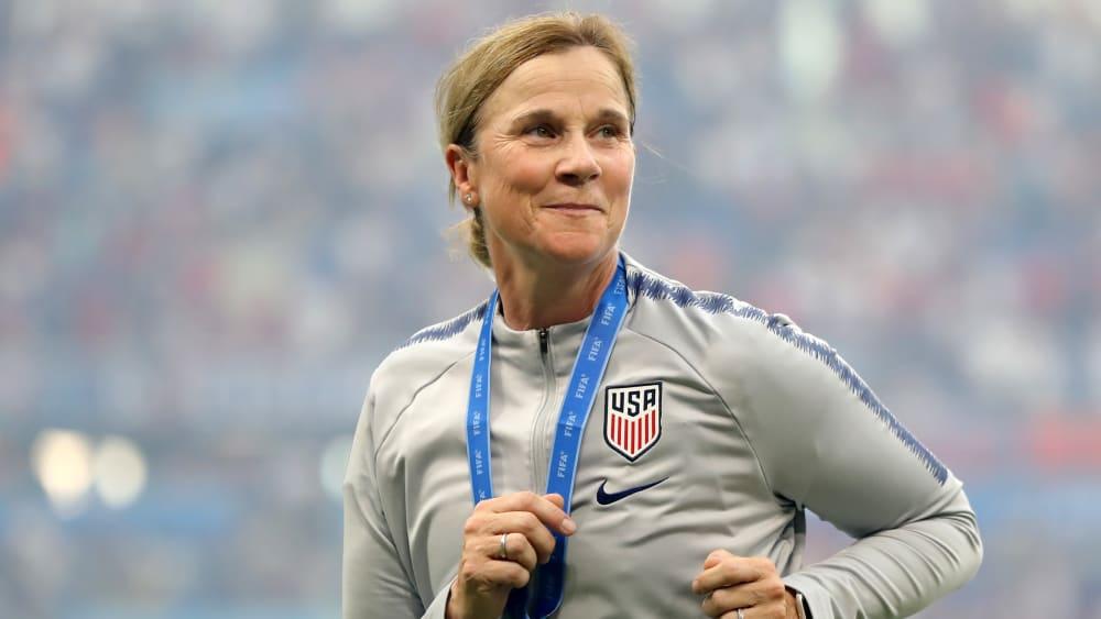 Erst Weltmeisterin, jetzt Rücktritt: Jill Ellis.
