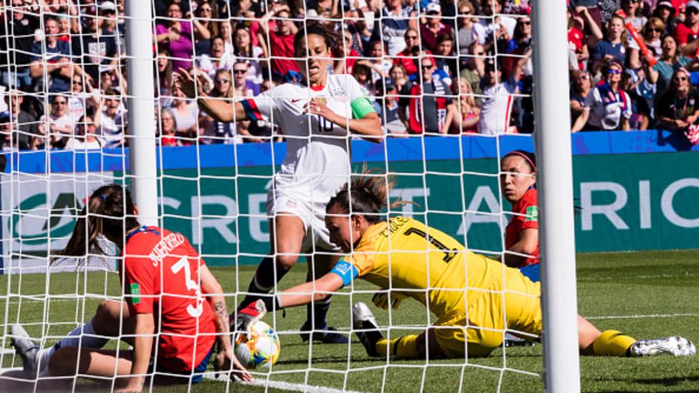 Chiles Keeperin Endler verhinderte eine höhere Niederlage