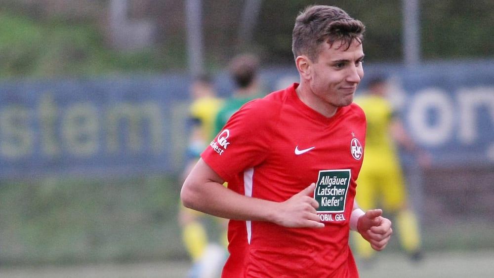 Flavius Botiseriu im Dress des 1. FC Kaiserslautern.