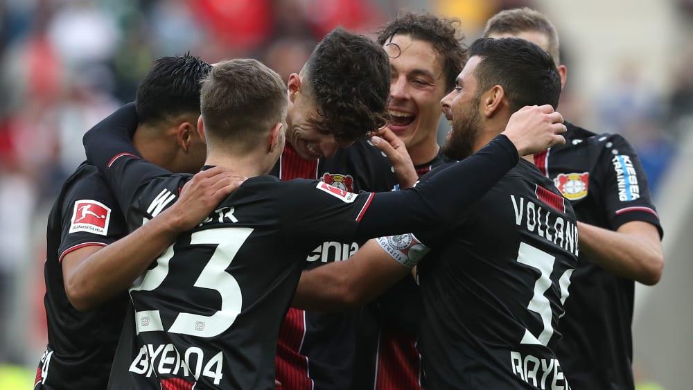 Verdienter Sieg: Leverkusen holt drei Auswärtspunkte in Augsburg.