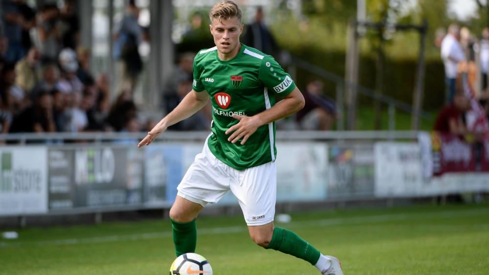 War gegen die TSV 1860 Rosenheim nicht zu stoppen: Florian Pieper.