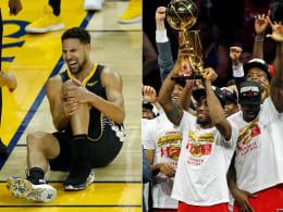 Nach Thompson-Schock: Raptors zum ersten Mal NBA-Champion!