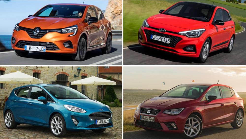 Renault Clio, Hyundai i20, Ford Fiesta, Seat Ibiza