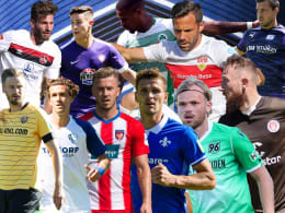Die Trikots der Zweitligisten für die Saison 2019/20