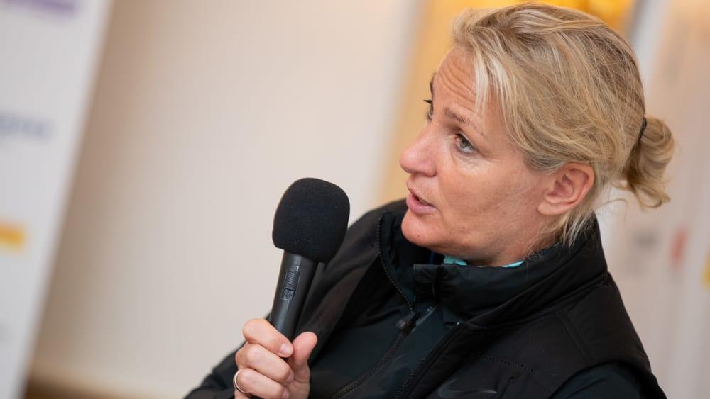 Bundestrainerin Barbara Rittner