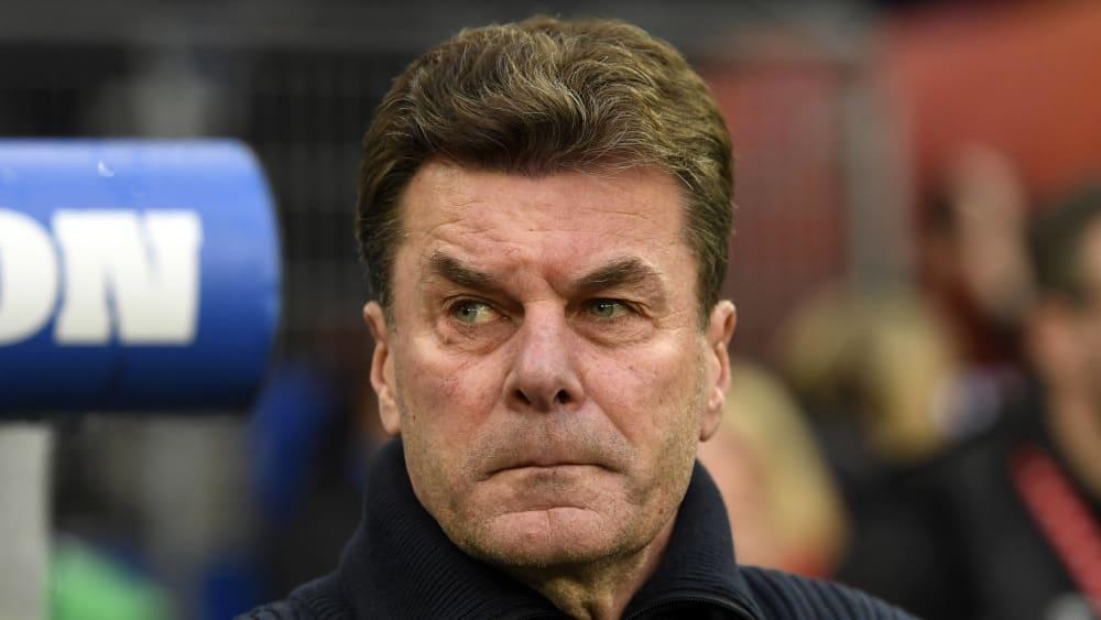 HSV-Coach Dieter Hecking.