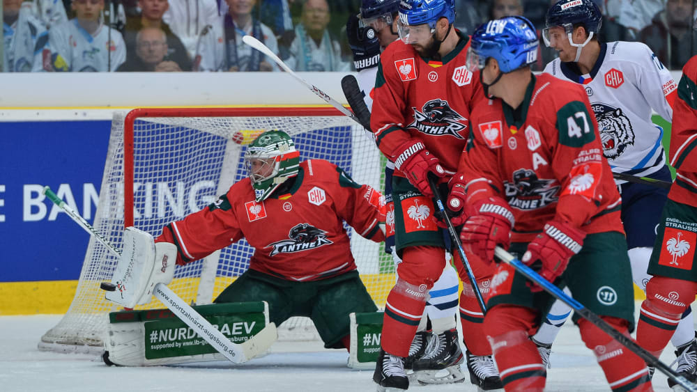 Augsburg in der Champions League Hockey