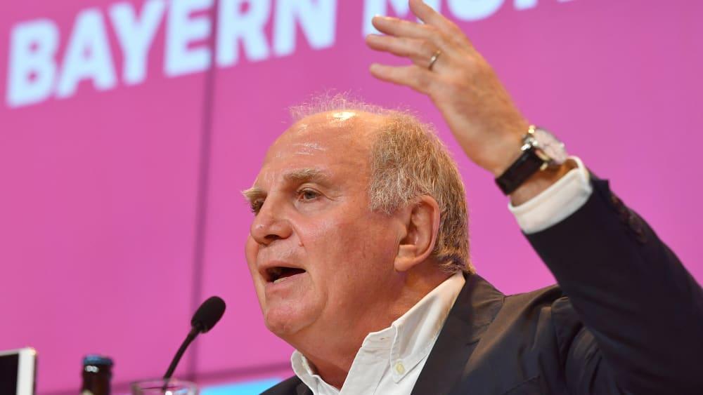 """Hoeneß legt nach: """"Ter Stegen beschädigt einen tadellosen Sportsmann"""" - Bayern-Präsident über die Torwart-Thematik beim DFB"""