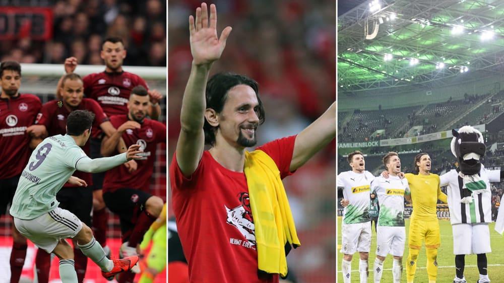 Bundesliga-Jahrestabelle 2019