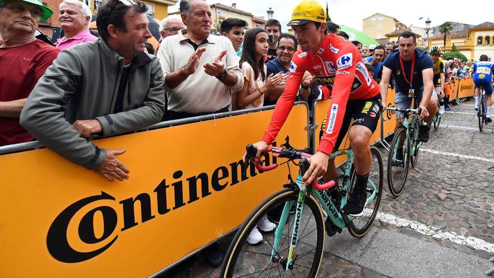 Steht unmittelbar vor dem Sieg der Vuelta: Primoz Roglic.