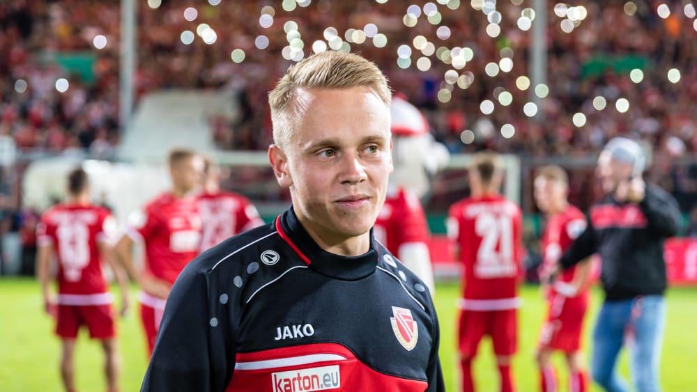 Trotz Kreuzbandriss: Geisler verlängert in Cottbus - Mittelfeldspieler kämpft sich derzeit zurück