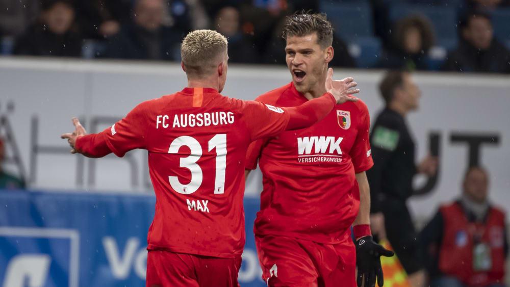 Philipp Max und Florian Niederlechner