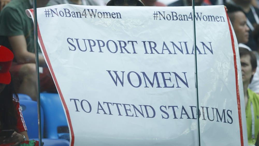 Die Frauen im Iran erhalten viel Unterstützung