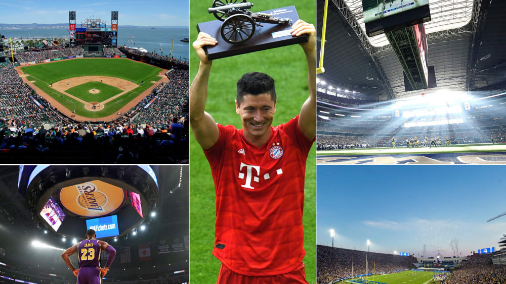 Bayern dabei: Die 20 wertvollsten Sportteams der Welt