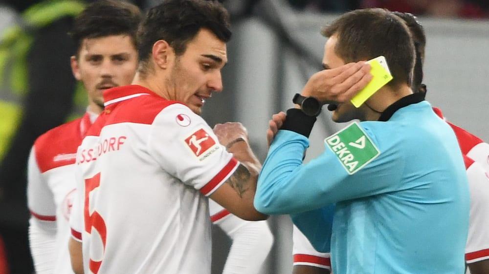Kaan Ayhan ist Spieler von Fortuna Düsseldorf.
