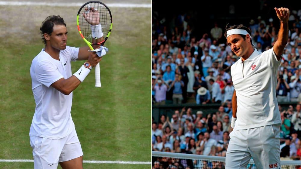 Rafael Nadal gegen Roger Federer - das elektrisiert einmal mehr die Tennis-Welt.