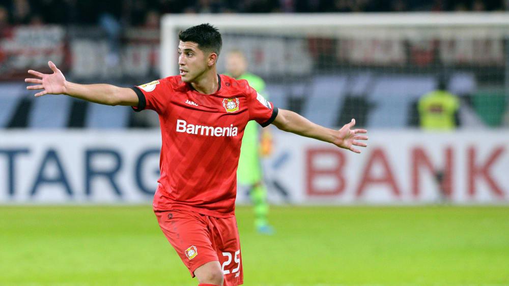 Exequiel Palacios ist Spieler von Bayer 04 Leverkusen.