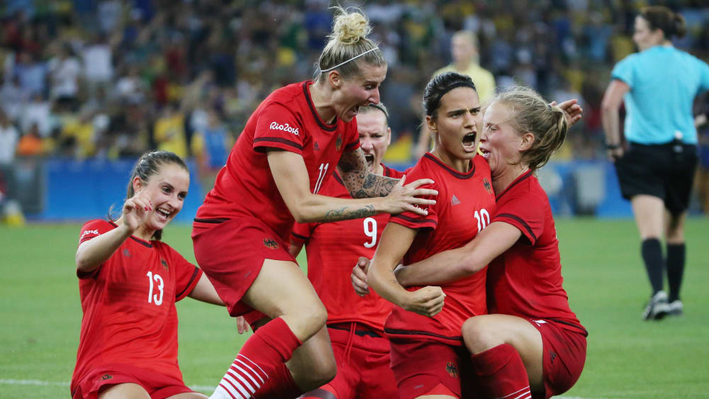 DFB-Frauen 2016