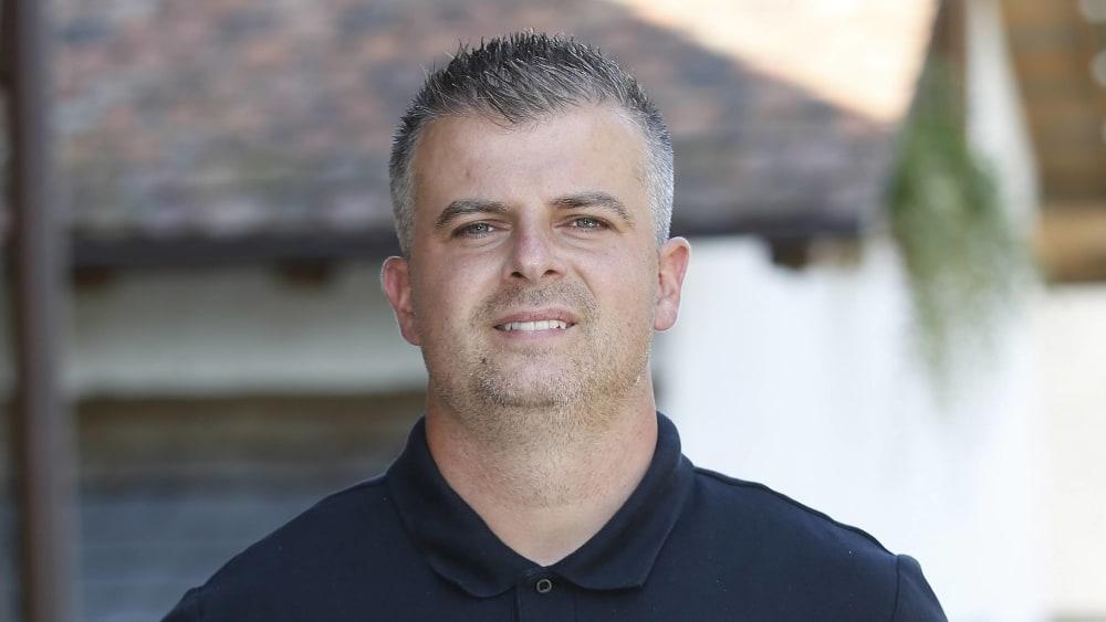 Der ehemalige Co-Trainer der SG Sonnenhof Großaspach Zlatko Blaskic.