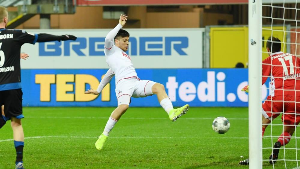 Jorge Meré erzielt das 1:0