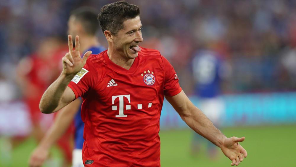 Steht kurz vor seinem 200. Pflichtspieltor für den FC Bayern: Robert Lewandowski.