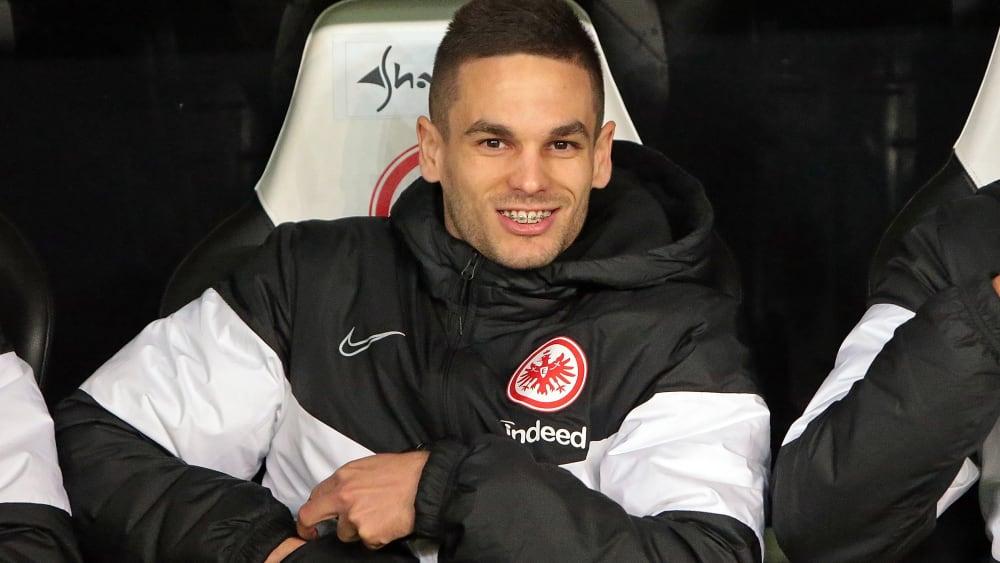 Mijat Gacinovic ist Spieler bei Eintracht Frankfurt.