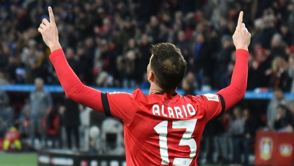 Lucas Alario ist Profi von Bayer 04 Leverkusen.