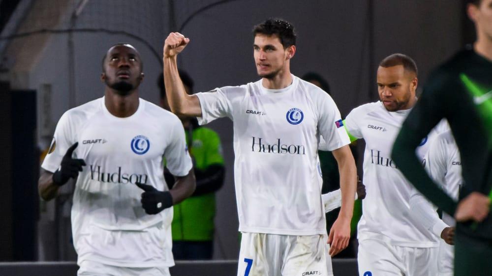 Wolfsburg - Gent: Yaremchuk trifft gegen VfL Wolfsburg
