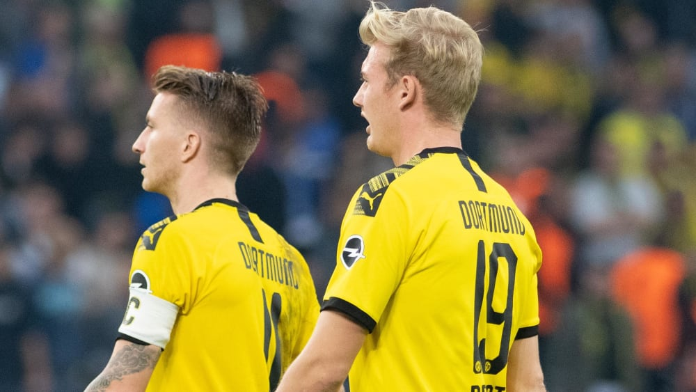 Marco Reus und Julian Brandt