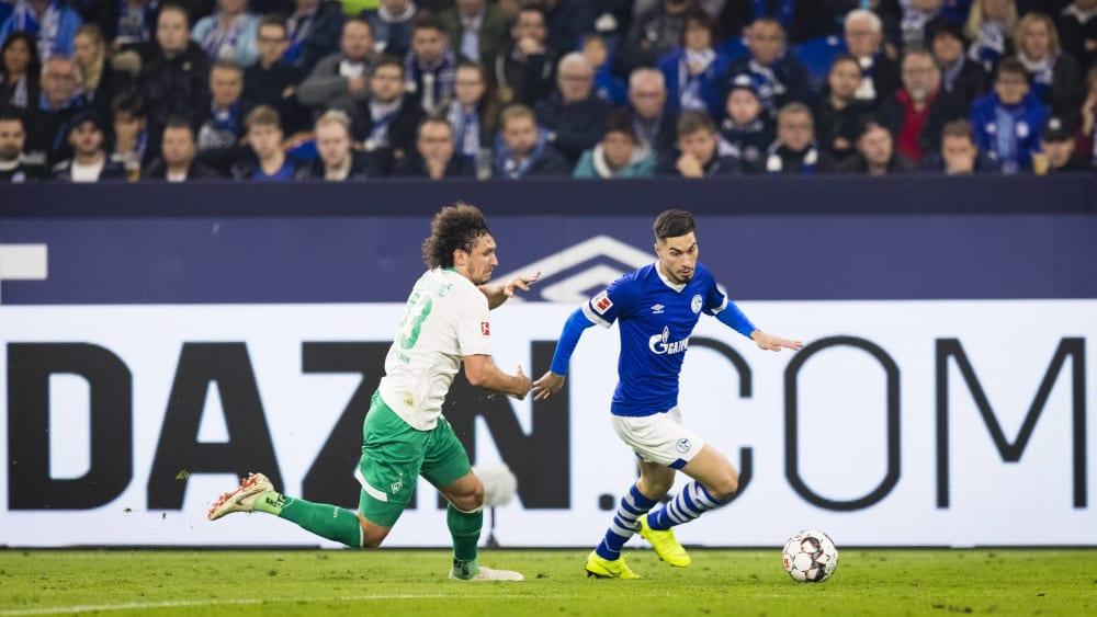 DAZN-Werbung in der Bundesliga
