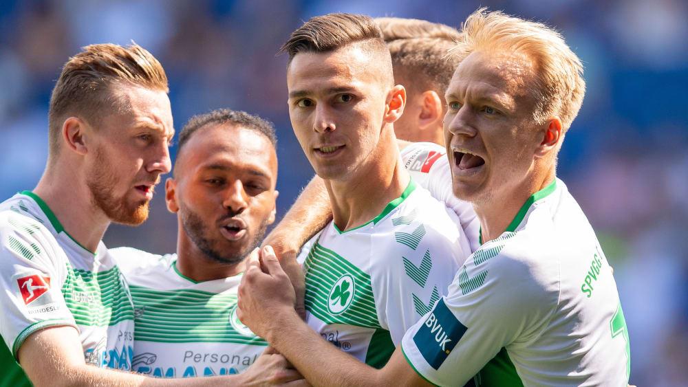 Tobias Mohr, Julian Green, Branimir Hrgota & Havard Nielsen