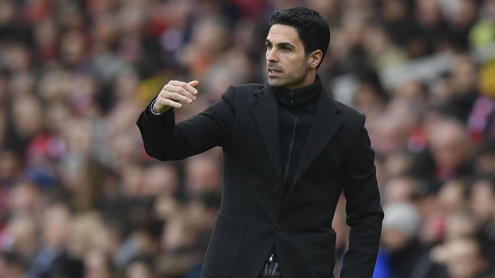 Mikel Arteta ist Trainer des FC Arsenal.