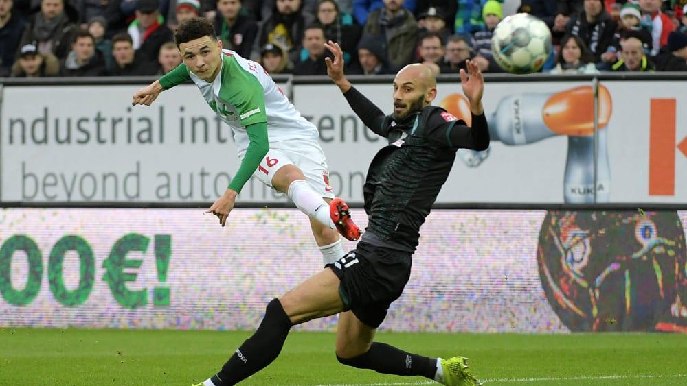 FC Augsburg schlägt durch Vargas Werder Bremen