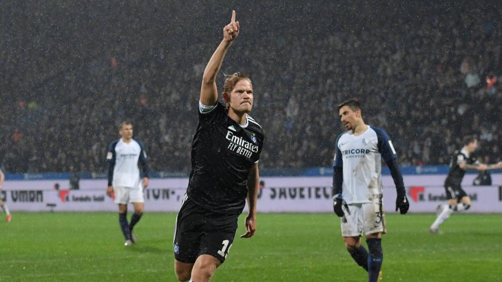 Pohjanpalo trifft beim Hamburger Sieg gegen Bochum
