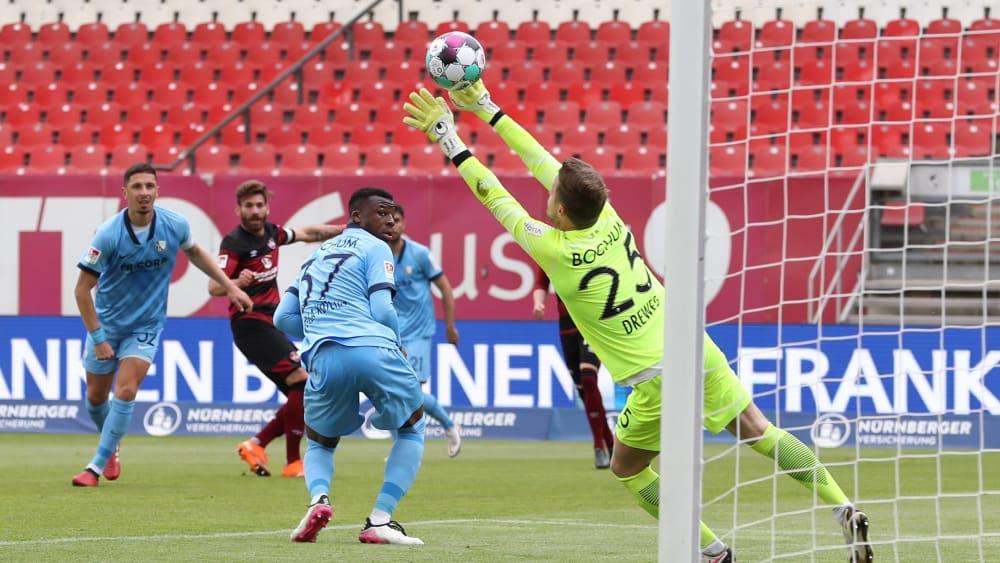 Zulj nutzt Mathenias Patzer, aber Bochum verpasst den Aufstieg