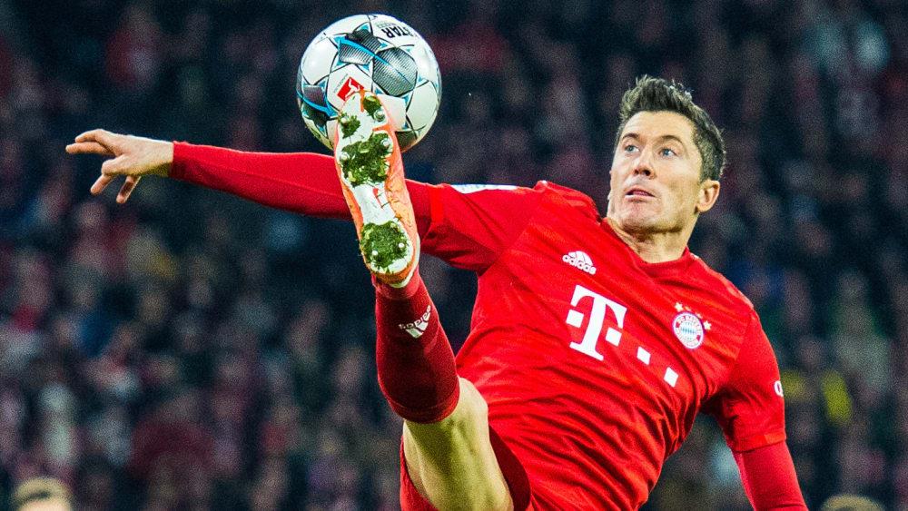 Rekordkurs: Robert Lewandowski trifft derzeit für den FC Bayern wie er will.