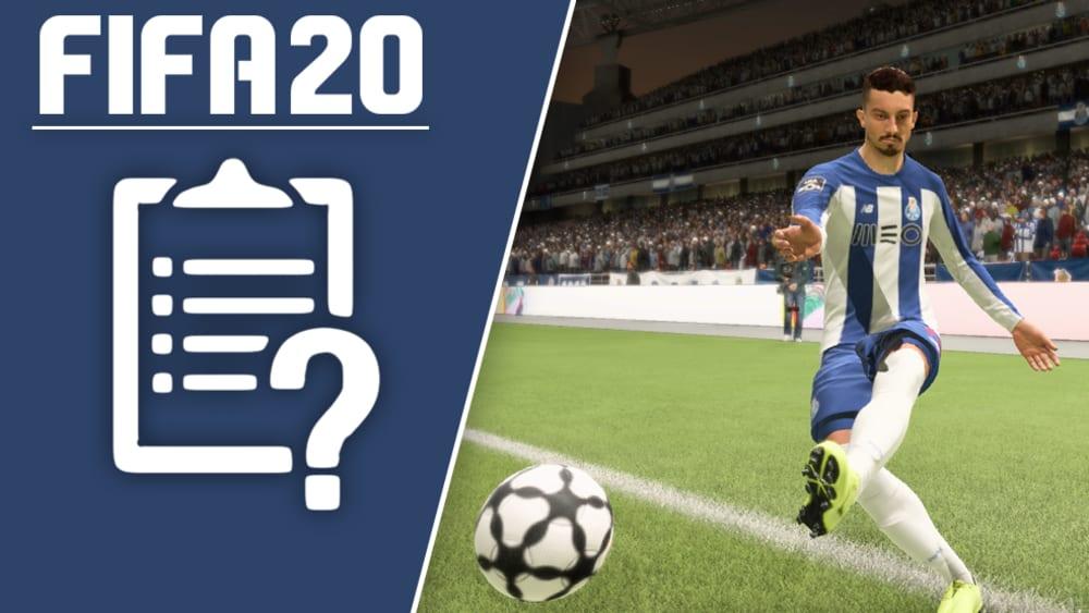 Das elfte Title Update von FIFA 20 dreht sich um die Behebungen von ein paar kleinen Problemen